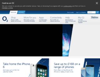 mobilereviews.o2.co.uk screenshot