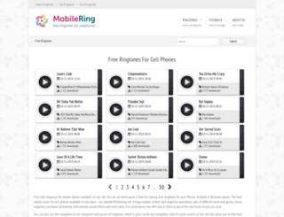 mobilering.net screenshot