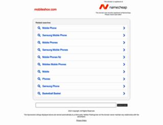 mobileshox.com screenshot