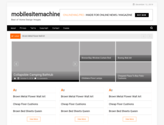 mobilesitemachine.net screenshot