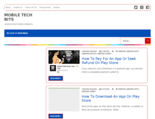 mobiletechbits.com screenshot