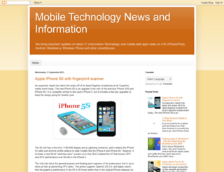 mobiletechnology-news.blogspot.in screenshot