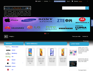 mobileunlock24.com screenshot