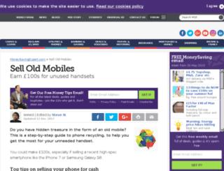 mobilevaluer.com screenshot