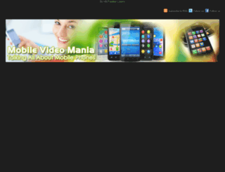 mobilevideomania.com screenshot