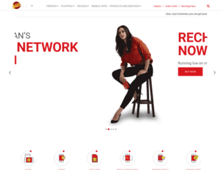 mobilinkgsm.com screenshot