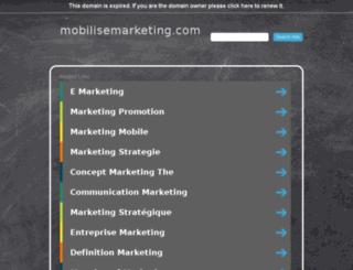 mobilisemarketing.com screenshot