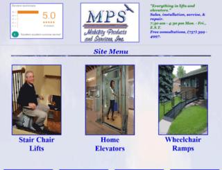 mobility-products.com screenshot