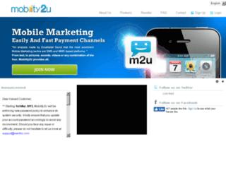 mobility2u.isentric.com screenshot