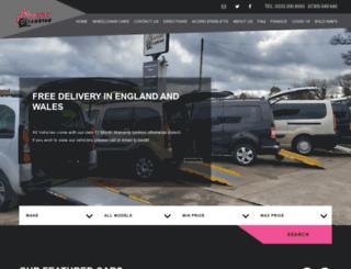 mobilitydisabled.co.uk screenshot