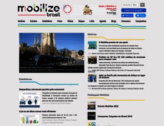 mobilize.org.br screenshot