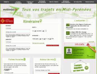 mobimipy.fr screenshot