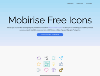 mobiriseicons.com screenshot
