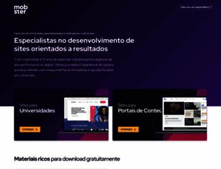 mobister.com.br screenshot
