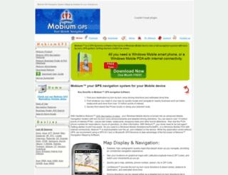 mobiumgps.com screenshot