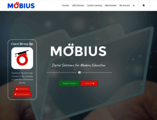 mobiuslearning.com screenshot