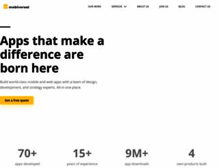 mobiversal.com screenshot