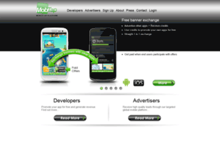 mobtap.com screenshot