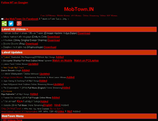 mobtown.in screenshot