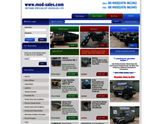 mod-sales.com screenshot