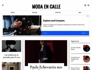 modaencalle.com screenshot
