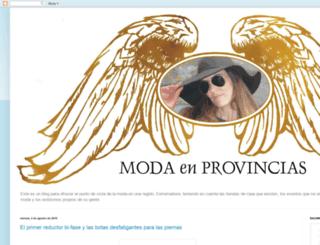 modaenprovincias.blogspot.fr screenshot