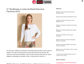 modafeminina.biz screenshot