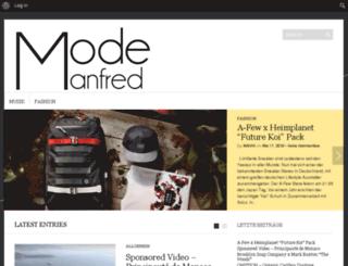 mode-manfred.de screenshot