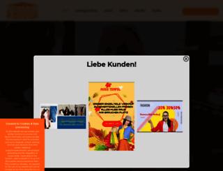 mode-tempel.de screenshot