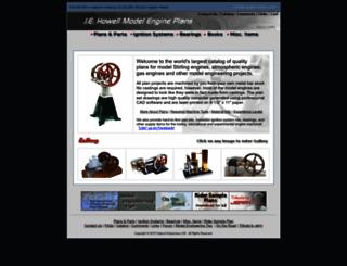 model-engine-plans.com screenshot