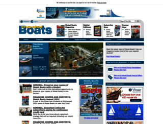 modelboats.co.uk screenshot