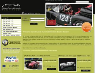 modelcars-shop.de screenshot