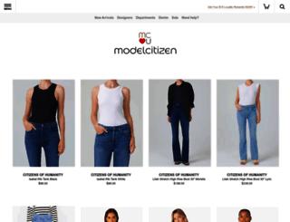 modelcitizen.com screenshot