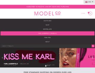 modelcocosmetics.com screenshot