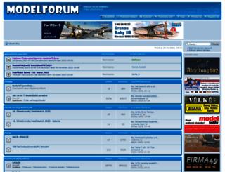 modelforum.cz screenshot