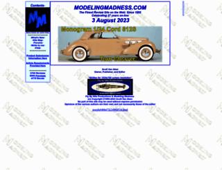 modelingmadness.com screenshot