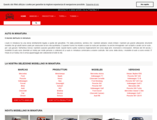 modellini-automobile.it screenshot