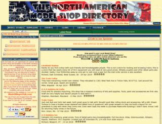 modelshopsusa.com screenshot