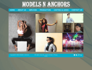 modelsnanchors.co.in screenshot