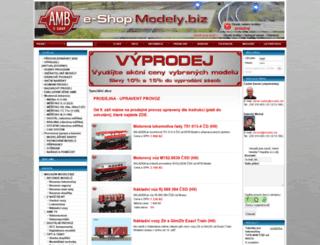 modely.biz screenshot