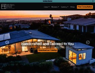 modern-shed.com screenshot
