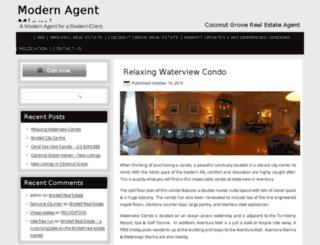 modernagentmiami.com screenshot
