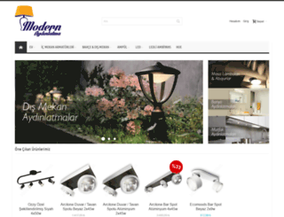 modernaydinlatma.com.tr screenshot