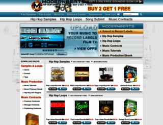 modernbeats.com screenshot