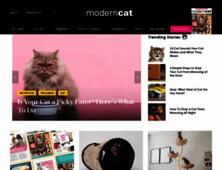 moderncat.com screenshot