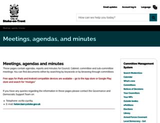 moderngov.stoke.gov.uk screenshot