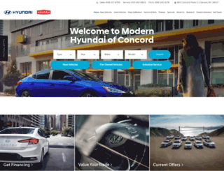 modernhyundai.com screenshot
