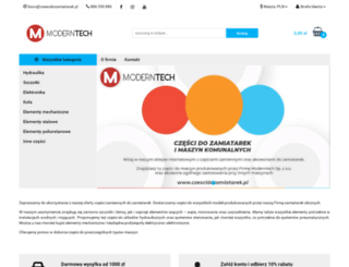 modernparts.pl screenshot