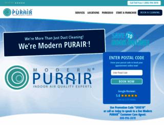 modernpurair.com screenshot