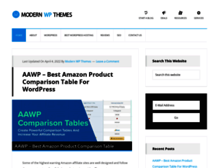 modernwpthemes.com screenshot